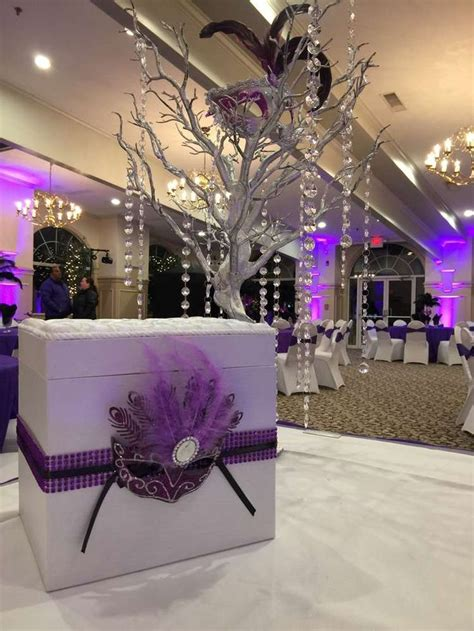 25 best ideas about masquerade centerpieces on