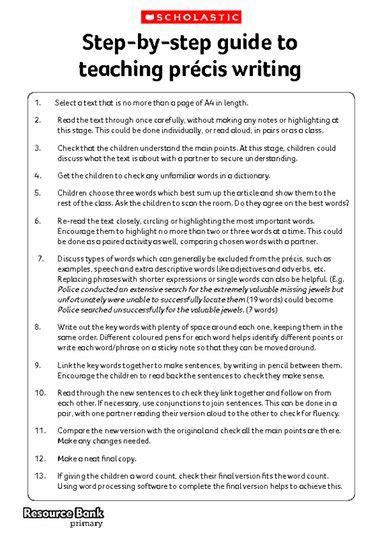 write posts readers a step by step guide books write my precis