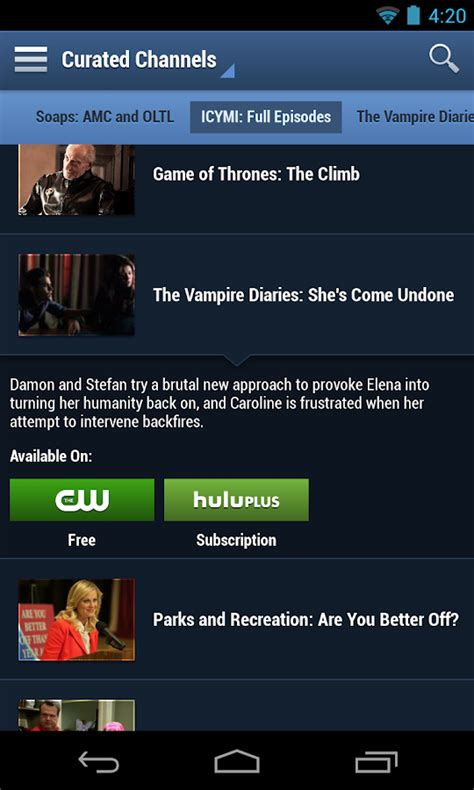 free tv apps for android mobile mobile tv guide tviz mobile tv guide android apps on play