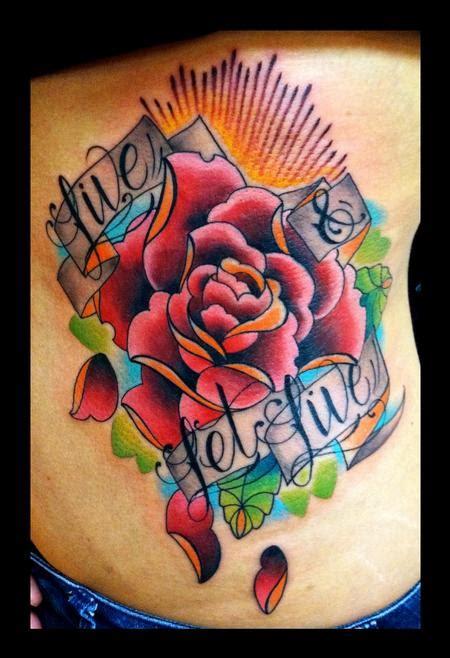 fiori school junkies studio tattoos traditional