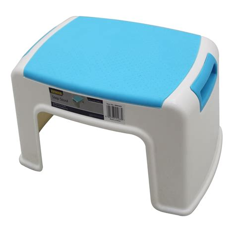 Plastic Step Stools by Syneco Plastic 1 Step Stool Bunnings Warehouse