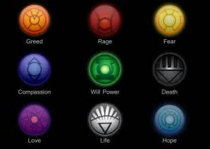 lantern corps colors lantern corps logos by ycanwood on deviantart