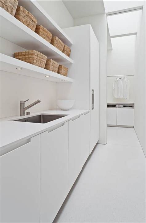 laundry white all white laundry room for the home