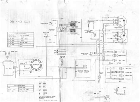 snowmobile wiring diagrams the knownledge