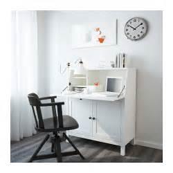 hemnes bureau white stain 89x108 cm ikea