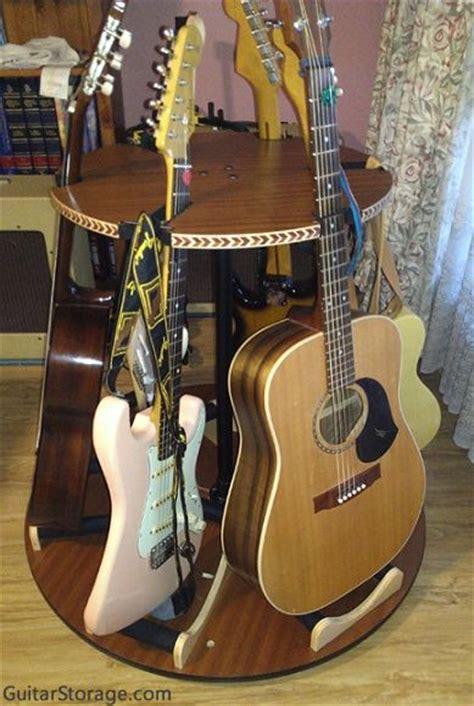 pin  guitarstorage  multiple guitar stands