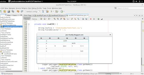 javafx table view layout java buddy read csv file display in javafx tableview