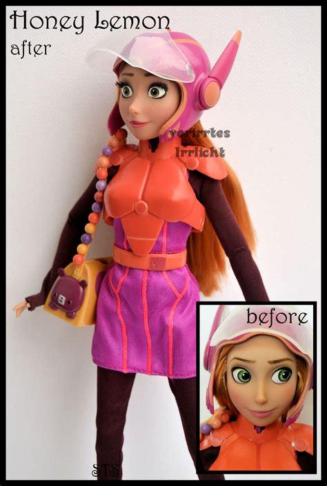 doll x reader lemon repainted ooak honey lemon doll from big 6 by