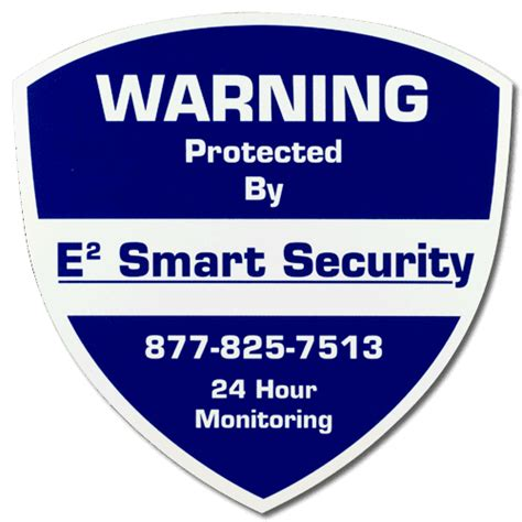 home security signs alarm system decals by mavericklabel