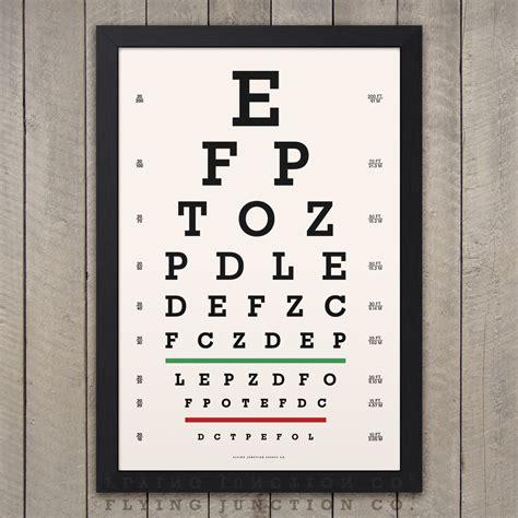 printable vintage eye chart sehtafel print klassische snellen vintage look