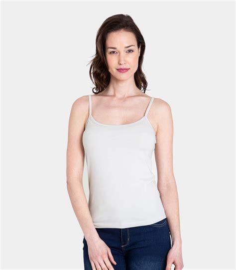 cami best silver grey cotton elastane womens jersey cami top