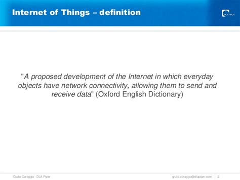 internet definition legal issues of the internet of things