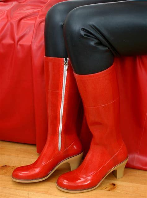 high heel rubber boots high heel absatz gummistiefel 40 rubber wellington boots
