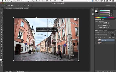 tutorial photoshop adobe cc perspective warp in photoshop cc 14 2 youtube