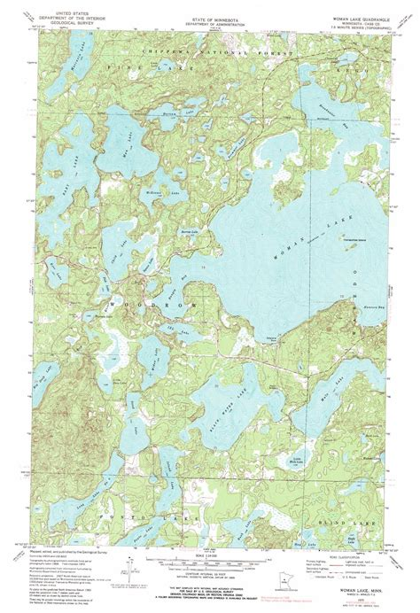 minnesota topographic map lake topographic map mn usgs topo 46094h3