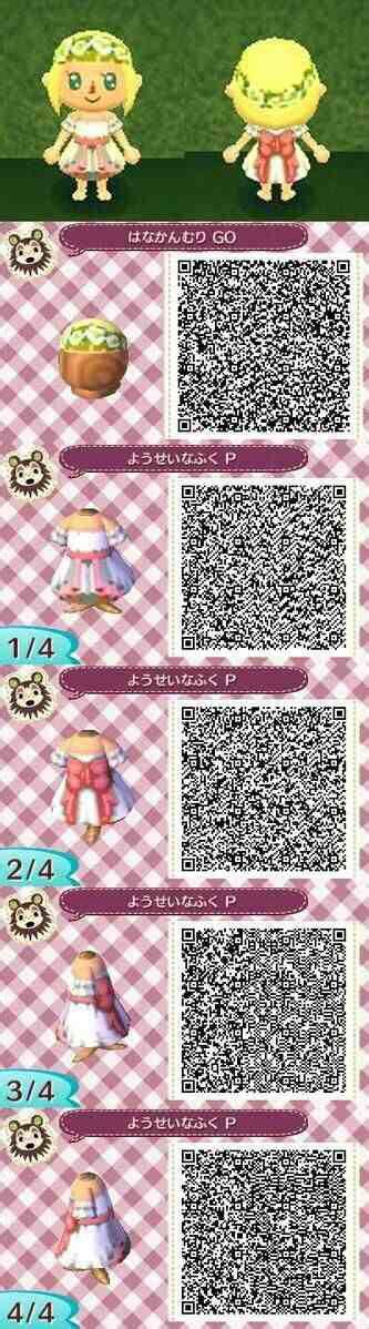 acnl hair braid qr animal crossing new leaf qr code acnl qr codes