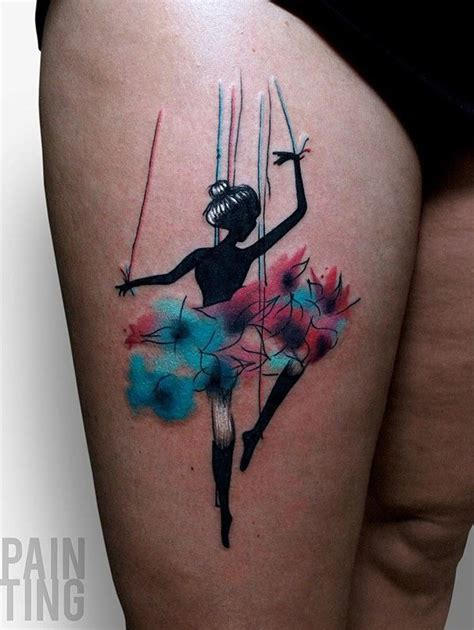 dancer tattoos designs 65 lovely designs thighs and tatoos