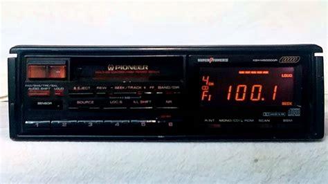 cassette car stereo vintage pioneer keh m5000qr am fm cassette car stereo