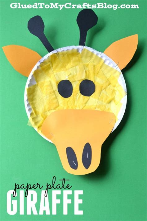 giraffe paper plate craft 17 best images about various on crafts cactus