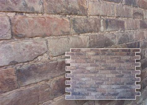 finished wall skins faux brick stone cement block surface panels 100 recycled materials