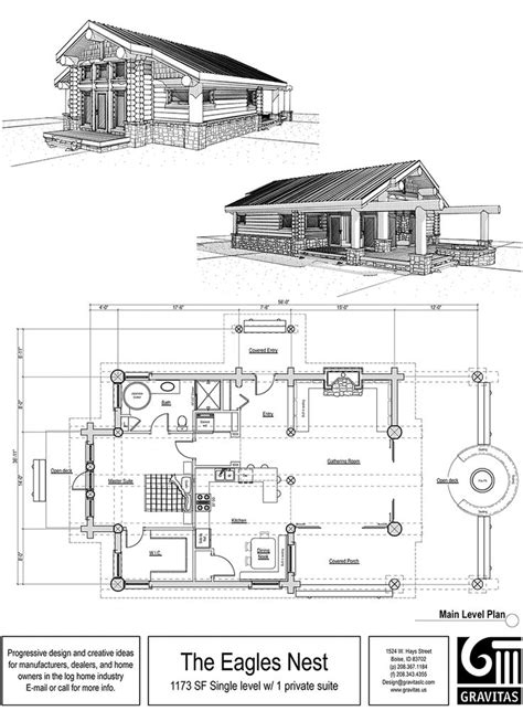 large cottage house plans one story cabin floor plans large one story log homes
