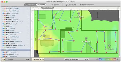 test segnale wifi como aumentar sinal wifi netspot para mac os x