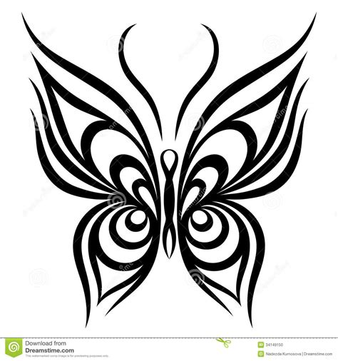 vector butterfly stock photo image 34149150