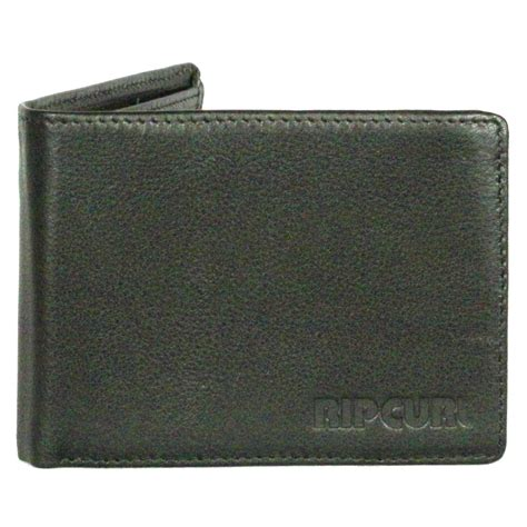 Ripcurl Leather rip curl leather wallet with cc note and coin original
