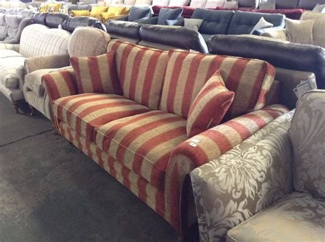 striped two seater sofa red and gold striped 2 seater sofa tr0001012 wo0297631