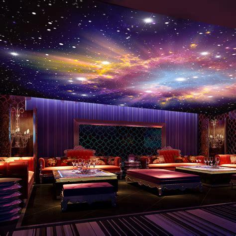 night sky bedroom wallpaper custom mural 3d star nebula night sky wall painting ceiling smallpox wallpaper bedroom