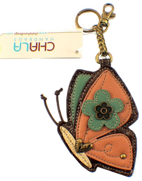 Chala Coin Purse Key Fob chala butterfly whimsical inspired key chain coin purse