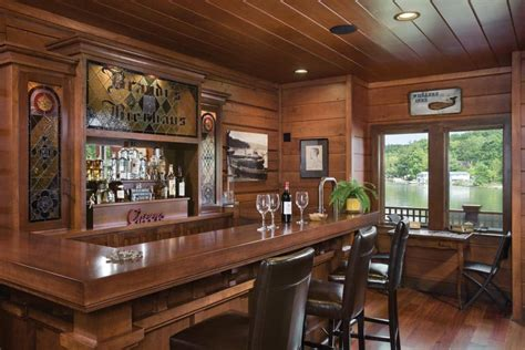 Home Bars Nj Branchville New Jersey Hybrid Timber Home By Precisioncraft