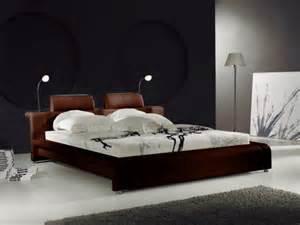 lit en cuir design en 140 x 190 pesaro