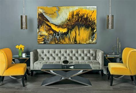 grey and yellow home decor home design 89 inspiring yellow living room decors