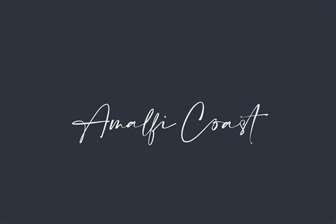 amalfi coast fonts shmonts
