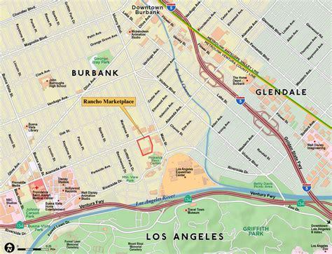 map of burbank ca paw technologies burbank california
