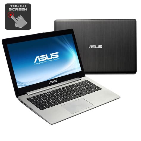 Laptop Asus Touchscreen 14 Inch asus 14 inch touch screen laptop intel i3 2365m 1 4 ghz dual 4gb ram 500gb windows