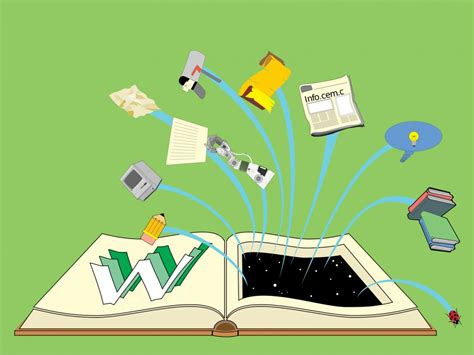 Book Is Full Of Knowledge Backgrounds Educational Green Templates Free Ppt Backgrounds And Knowledge Ppt Templates