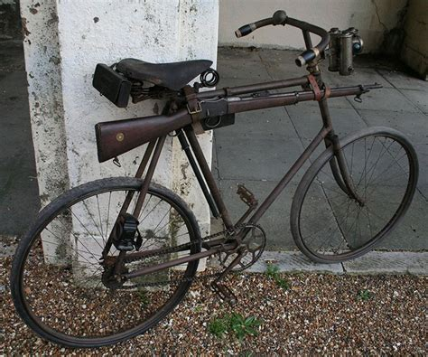 martini henry ww1 martini henry rifle mounted on 1899 bsa roadster bicycle