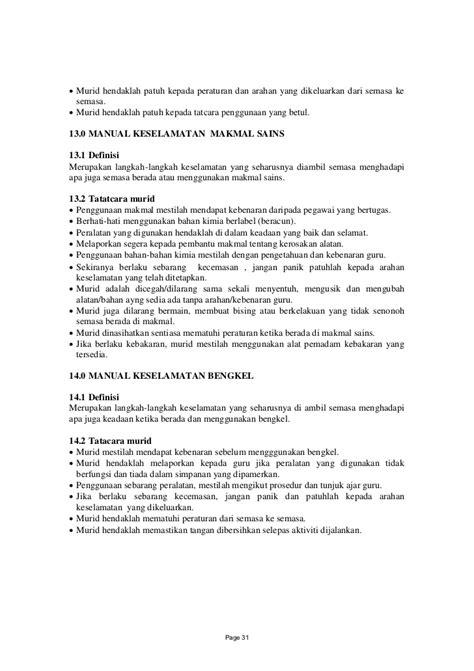 langkah langkah 01 pelan tindakan program sekolah selamat