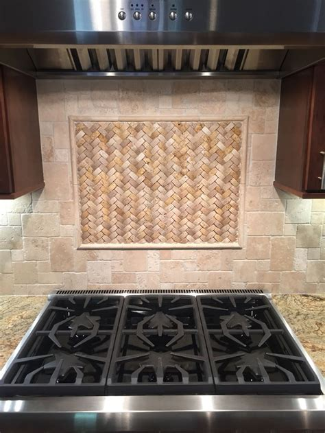stone tile kitchen backsplash 68 best natural stone backsplash tile images on pinterest