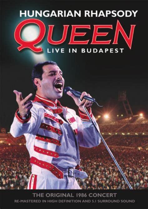 film queen uscita queen hungarian rhapsody live in budapest in uscita a