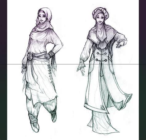 drawing pattern abaya hijab style 2 by whiteleyth on deviantart