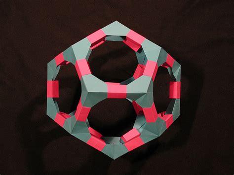 Modular Origami Polyhedra - polyhedra kit dodecahedron modular origami title