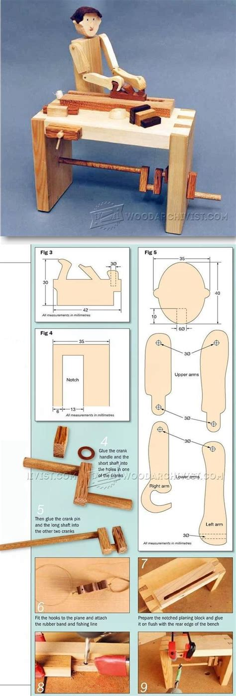 woodworking for preschoolers woodworker automata plans children s wooden