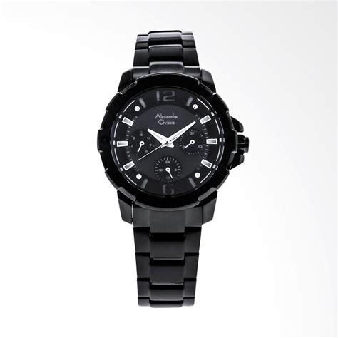 Jam Tangan Wanita Alexandre Christie 6410 Bfbtbba Original jual alexandre christie acf 6410 bfbipba black stainless steel jam tangan wanita black