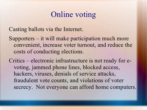 elections chapter 7 section 2 chapter 7 section 2