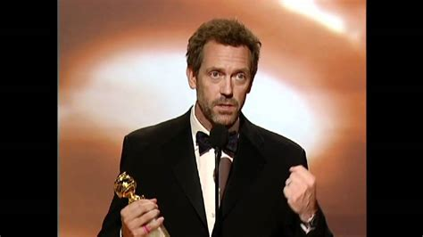 hugh laurie wins best actor tv series drama golden