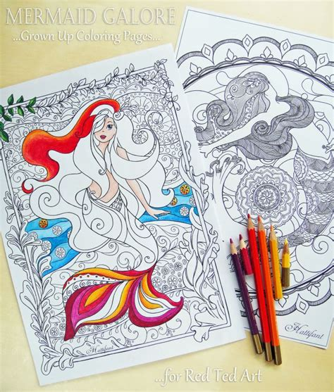 ted coloring book review free mermaid colouring pages for grown ups ted