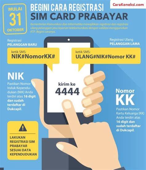 Memory Card Hp Terbaru cara registrasi kartu sim card tanpa ktp daftar perdana